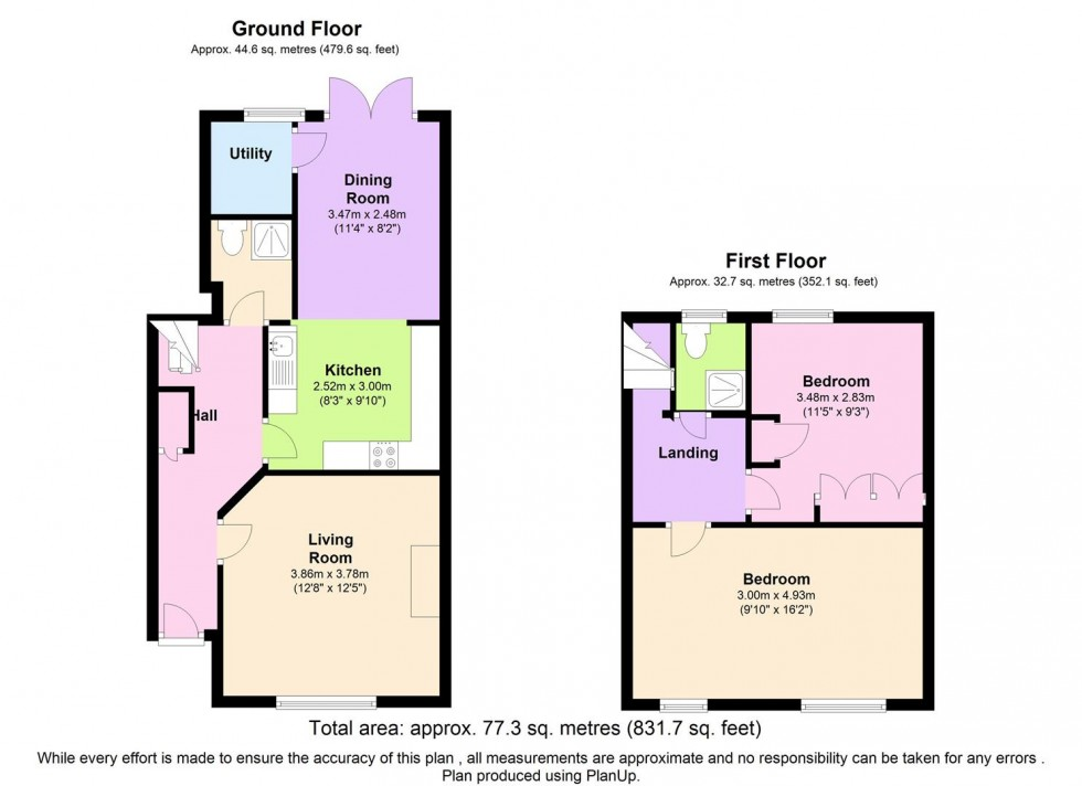 Floorplan for Colchester Road, Edgware