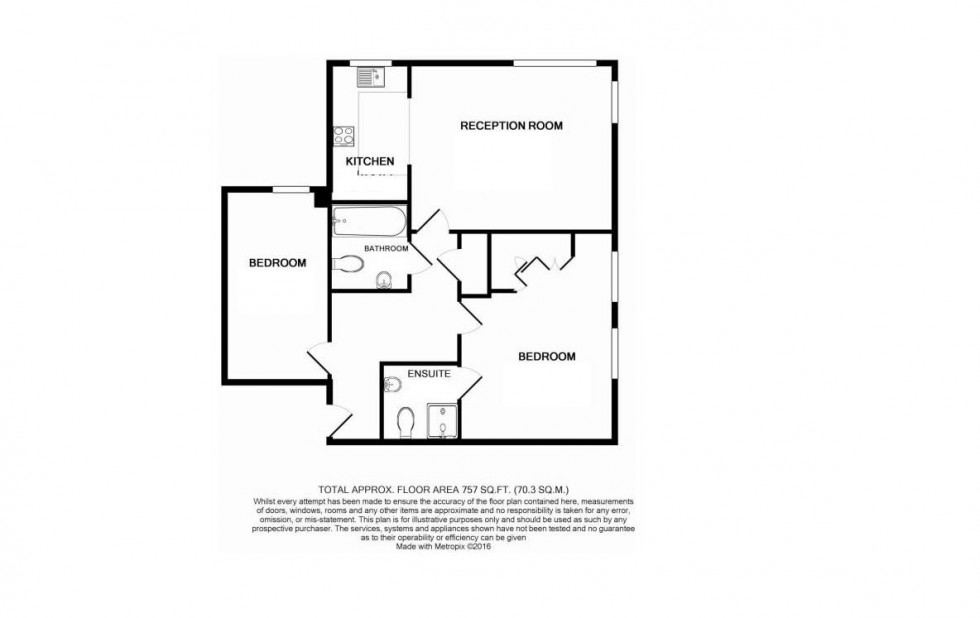 Floorplan for Grade Close, Elstree
